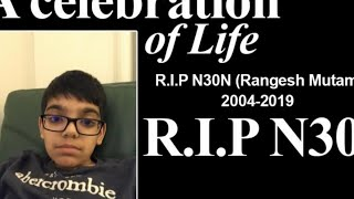 Ronnie2K's Son aka N3ON FINALLY ADMITS To Faking His Death...........