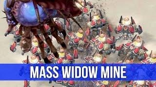 StarCraft 2: MASS Widow Mine! (Game Analysis)