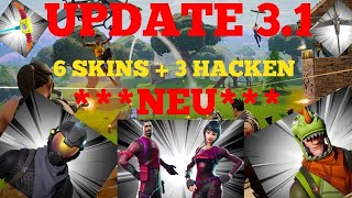 UPDATE 3.1 / 6 NEW SKINS +3 NEW BLACKS/ FORTNITE ENGLISH