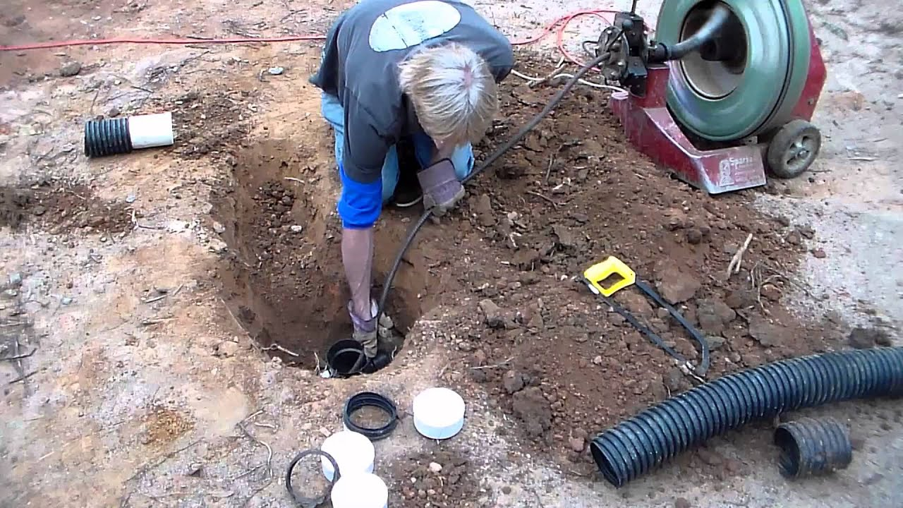 How To Find And Repair Broken French Drain Pipe Diy