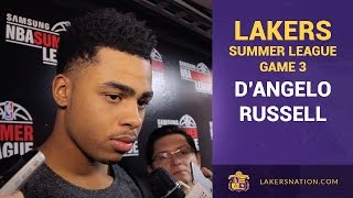 D'Angelo Russell Addresses Turnovers,