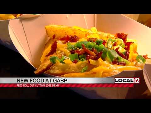 New foods offered at Great American Ball Park for 2018 season