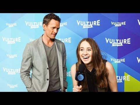 INTERVIEWING NEIL PATRICK HARRIS - Vulture Festival BTS with AT&T