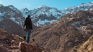 Toubkal National Park: SNOW in Morocco  - Episode 8