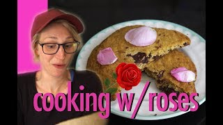 Cooking with Rose Petals! It can be done...and it's fun!