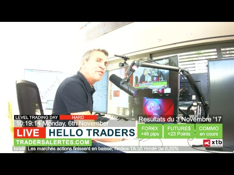 Emission Hello Traders Emission du 6 Novembre 17