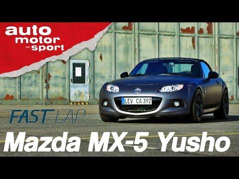30 Jahre Mazda MX-5: Ist der Yusho der Beste? - Fast Lap XL | auto motor & sport