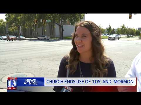 Mormons In Utah React To New Name Guidelines For LDS Church