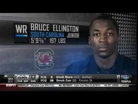 49ers select Bruce Ellington