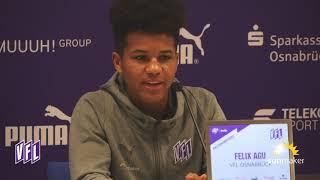 VfL-TV | Pressekonferenz vor letztem Heimspiel 2018