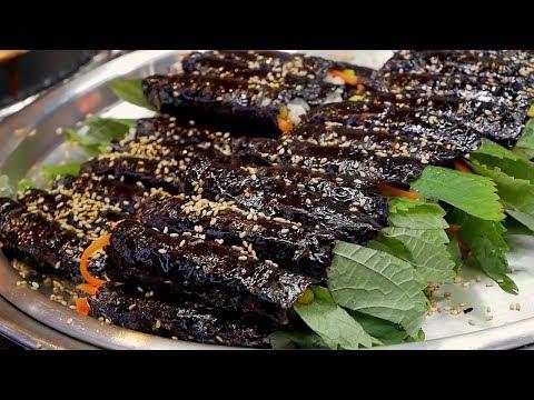 Mini Kimbap - Korean Street Food