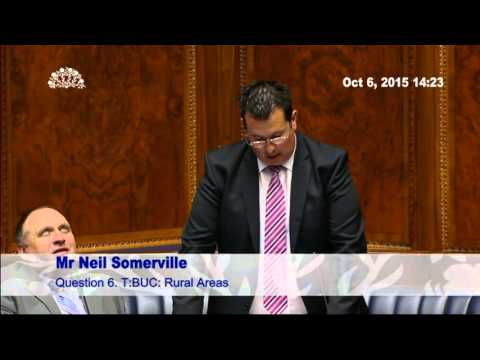 Neil Somerville MLA - Question to DCAL Minister Caral Ni Chuilin 6/10/15