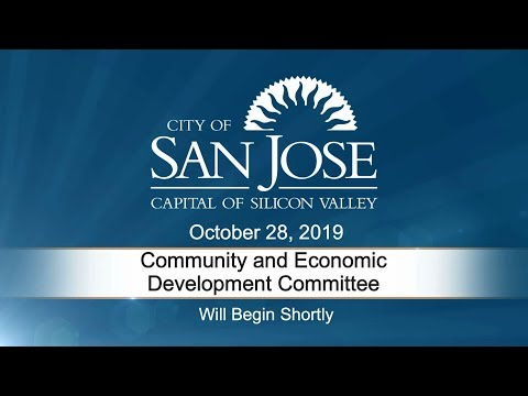 OCT 28, 2019 | Community & Economic Development Committee