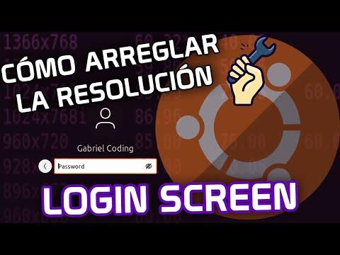 ▷ How to FIX Login Screen Resolution on Ubuntu (Como CAMBIAR/ARREGLAR la Resolución de Pantalla en Ubuntu)