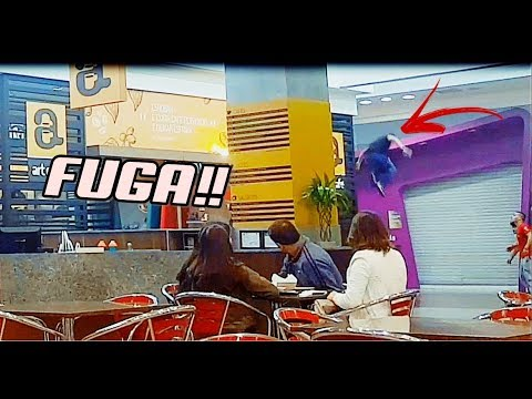 PARKOUR RAIZ!! FUGA NO SHOPPING #3