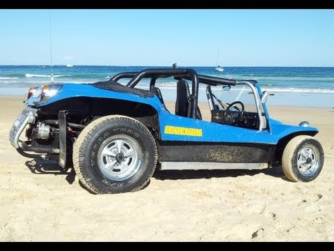 vw dune buggy drifting beach buggy