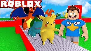 POKEMON FACTORY IN ROBLOX!! (Pokemon Tycoon)
