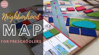How to introduce maps | Neighborhood map for kids