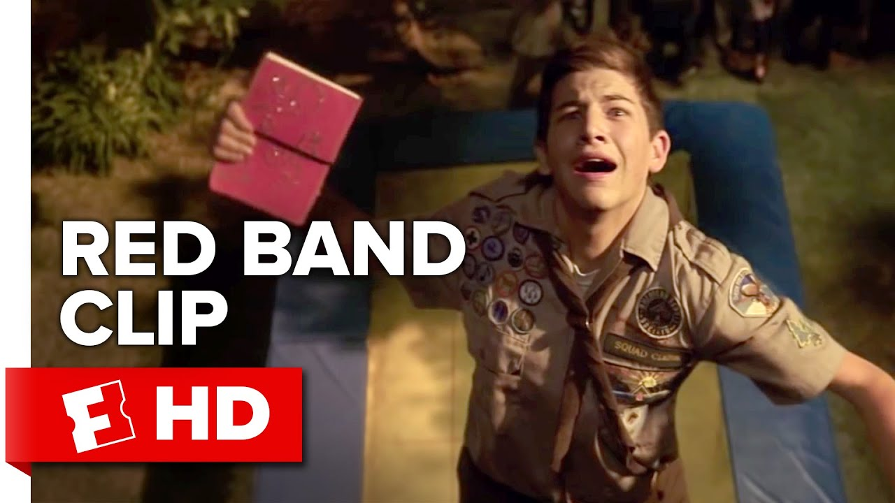 Download Scouts Guide to the Zombie Apocalypse Red Band CLIP - Trampoline (2015) - Movie HD