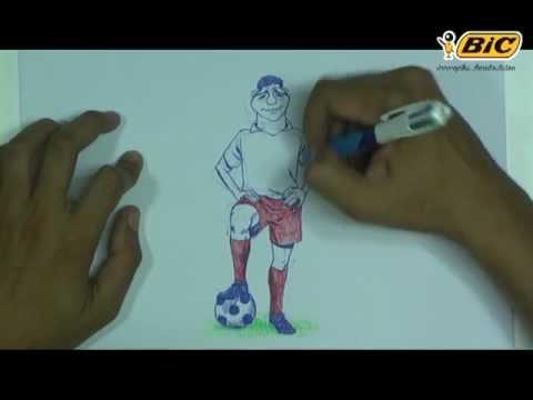 บิคชวนวาด ตอนที่ 3 วาดนักฟุตบอล Steven Gerrard