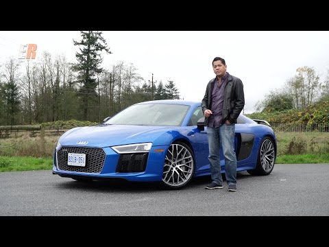 2017 Audi R8 V10 Plus - A 610HP Everyday Supercar Review