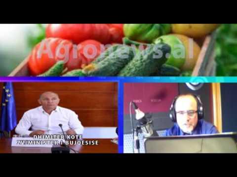 Zv/Ministri i Bujqesise Dhimiter Kote interviste per Agronews.al