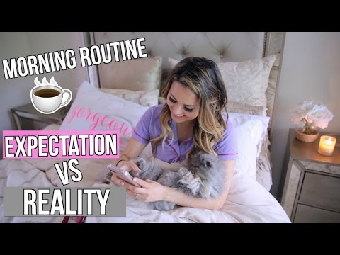 My Morning Routine Youtubers VS Reality