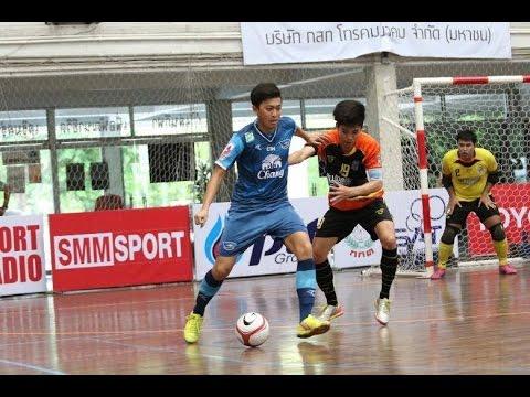 SMMTV เทปบันทึกการแข่งขันฟุตซอล ไทยแลนด์ พรีเมียร์ลีก 2015 : นนทบุรี - ชลบุรี บลูเวฟ