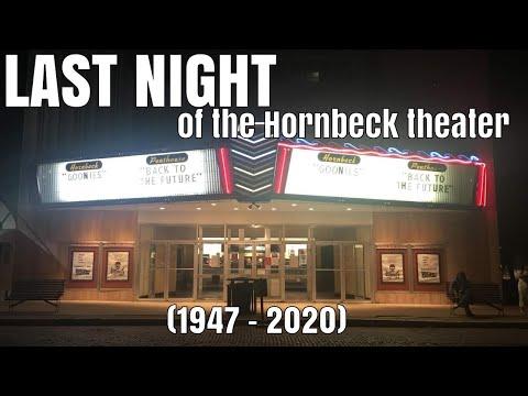 Last Night Of The Hornbeck Theater In Shawnee, Oklahoma (RIP 1947 - 2020)