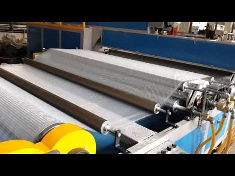 Balonlu Naylon üretim makinesi makinası