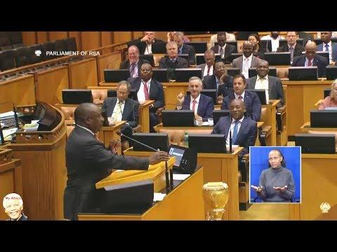 WATCH Cyril Ramaphosa Telling DA to SHUT UP!