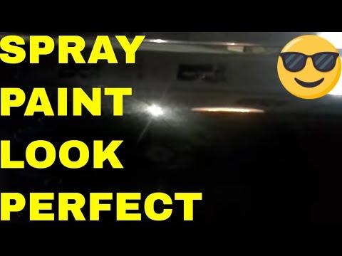 Fix Bad Paint Job, Remove Orange Peel