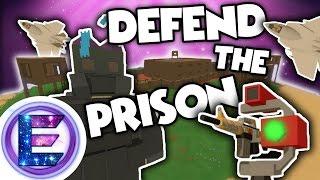 DEFEND THE PRISON! - Comes under Massive Attack - Horde Beacon - Unturned RP / PVP