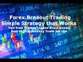 Forex Trading Breakout Strategy Best Techniques Trading Low to High Volatility for Profit