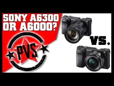 Sony A6300 vs. A6000 - Spec Comparison