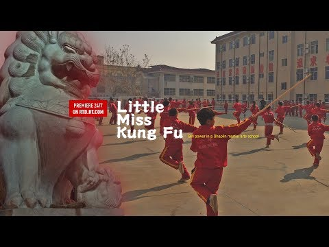 Little Miss Kung Fu. Girl power in a Shaolin martial arts sc
