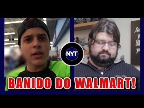 Jon Vlogs é BANIDO do Walmart nos Estados Unidos, Jovem Nerd critica YouTubers 2017