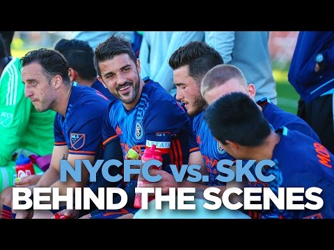 BEHIND THE SCENES | NYCFC vs. Kansas City | 02.25.17