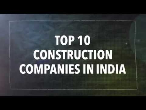 Top 10 Biggest Construction Companies in India | Civil Engineering