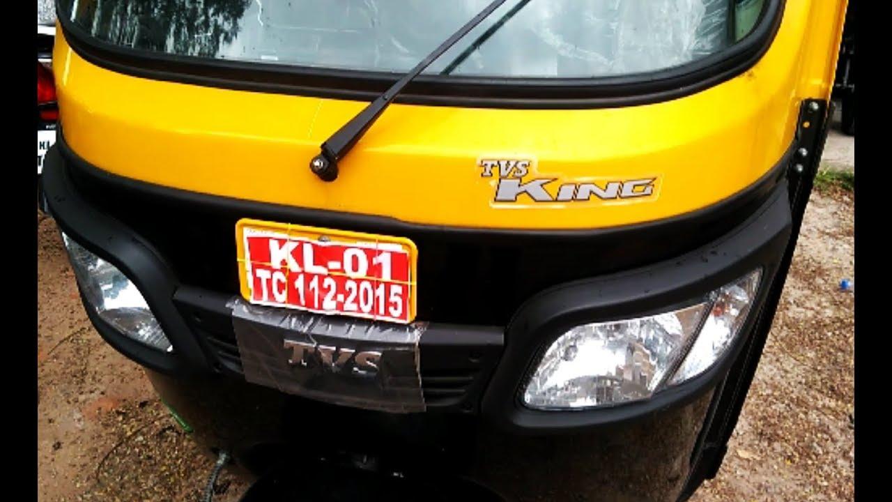 Tvs Auto Rickshaw Wiring Diagram Schematics King Deluxe Lpg 200cc Bs4 Complete Review Price