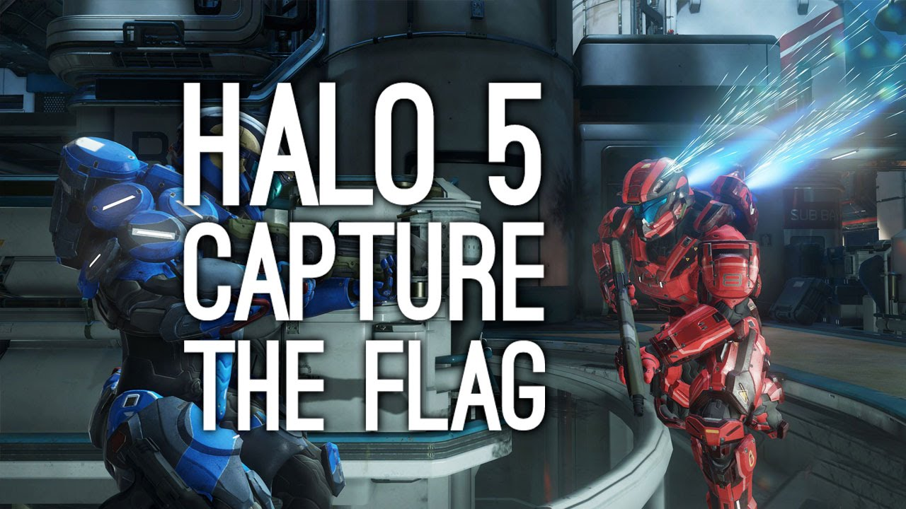 Let's Play Halo 5 Multiplayer - Capture the Flag! (Multiplayer Gameplay,  Fathom)
