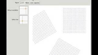 Overlapping Lattices Of Figures