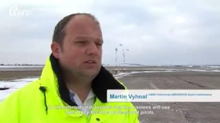 Aero News - Vodochody Airport winter maintenance