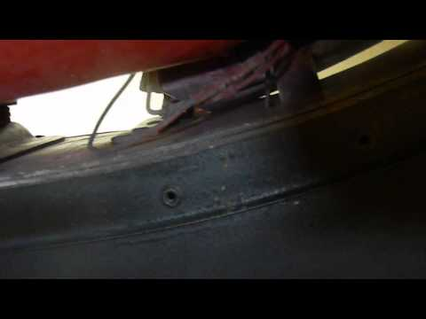 MGB Easy-How to Detach Rubber Bumper from 1976 MGB