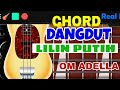 Chord Dangdut Bass Lilin - lilin Putih REAL BASS
