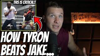 Tyron Woodley's *NEW* Training Footage W/ Floyd Mayweather Reveals A MAJOR KEY To Beating Jake..
