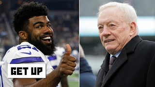 Ezekiel Elliott could threaten Jerry Jones and sit out without a deal - Domonique Foxworth | Get Up