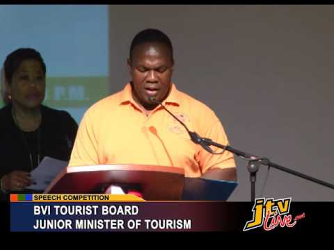 BVITB JUNIOR MINISTER OF TOURISM SPEECH COMPETITION   11 JUNE 2016