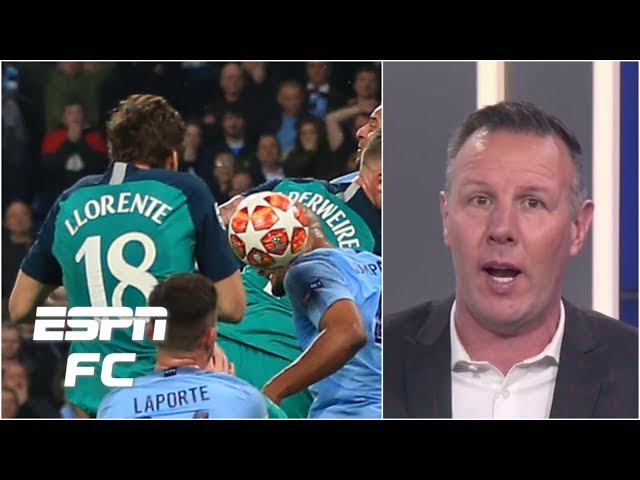 Man City vs. Spurs: Im flabbergasted by Llorente VAR review - Craig Burley | Champions League