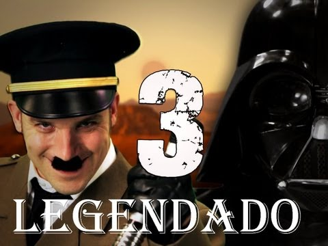 Hitler vs Vader 3 - LEGENDADO - Epic Rap Battles of History Season 3
